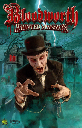 Bayville Screampark - Bloodworth Haunted Mansion - Long Island, NY