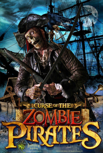 Bayville Screampark - Curse Of The Zombie Pirates - Long Island, NY