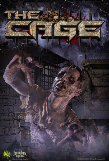 Bayville Screampark - The Cage - Long Island, NY
