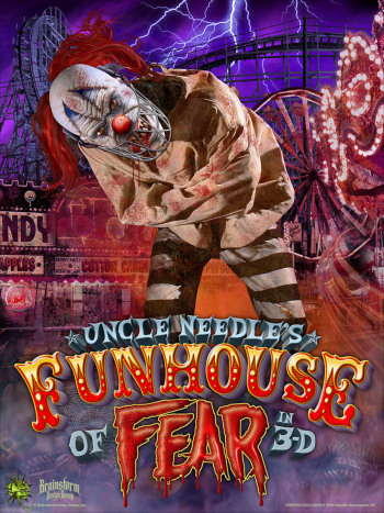 Bayville Screampark - Uncle Needles Funhouse Of Fear - Long Island, NY