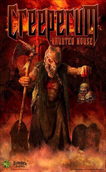 Creeperum Haunted House - CT