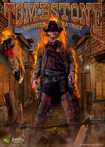 Creepyworld - Tombstone Haunted Hayride - MO