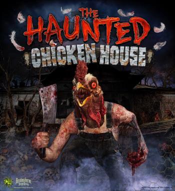 Haunted Chicken House - Heflin, Alabama
