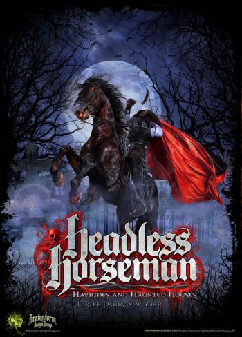 Headless Horseman Hayrides and Haunted Houses - Ulster Park, New York
