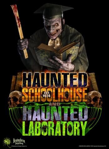 Haunted Schoolhouse Haunted Laboratory, Akron, OH