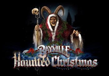 Bayville Haunted Christmas Logo