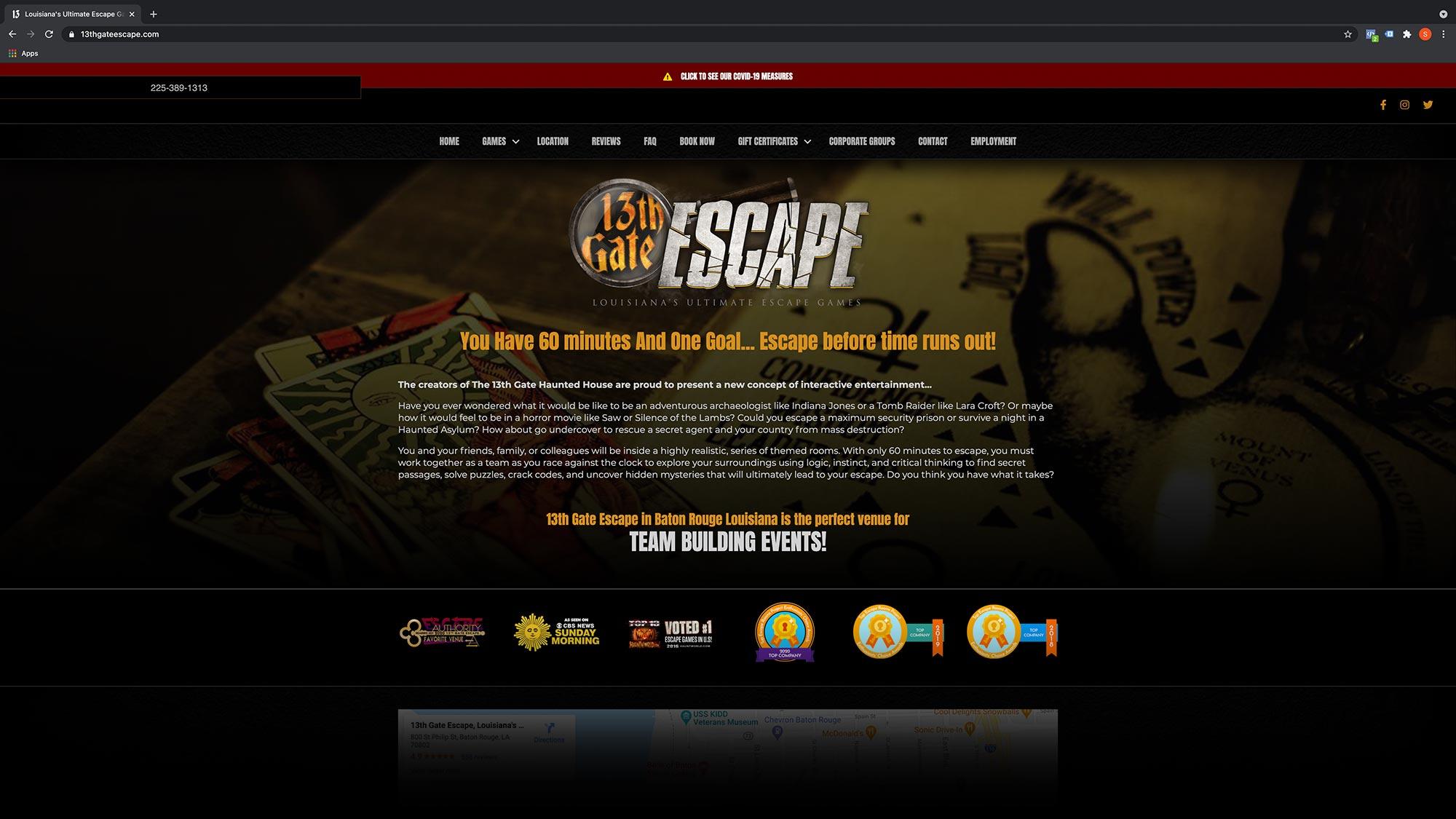 13thgateescape.com