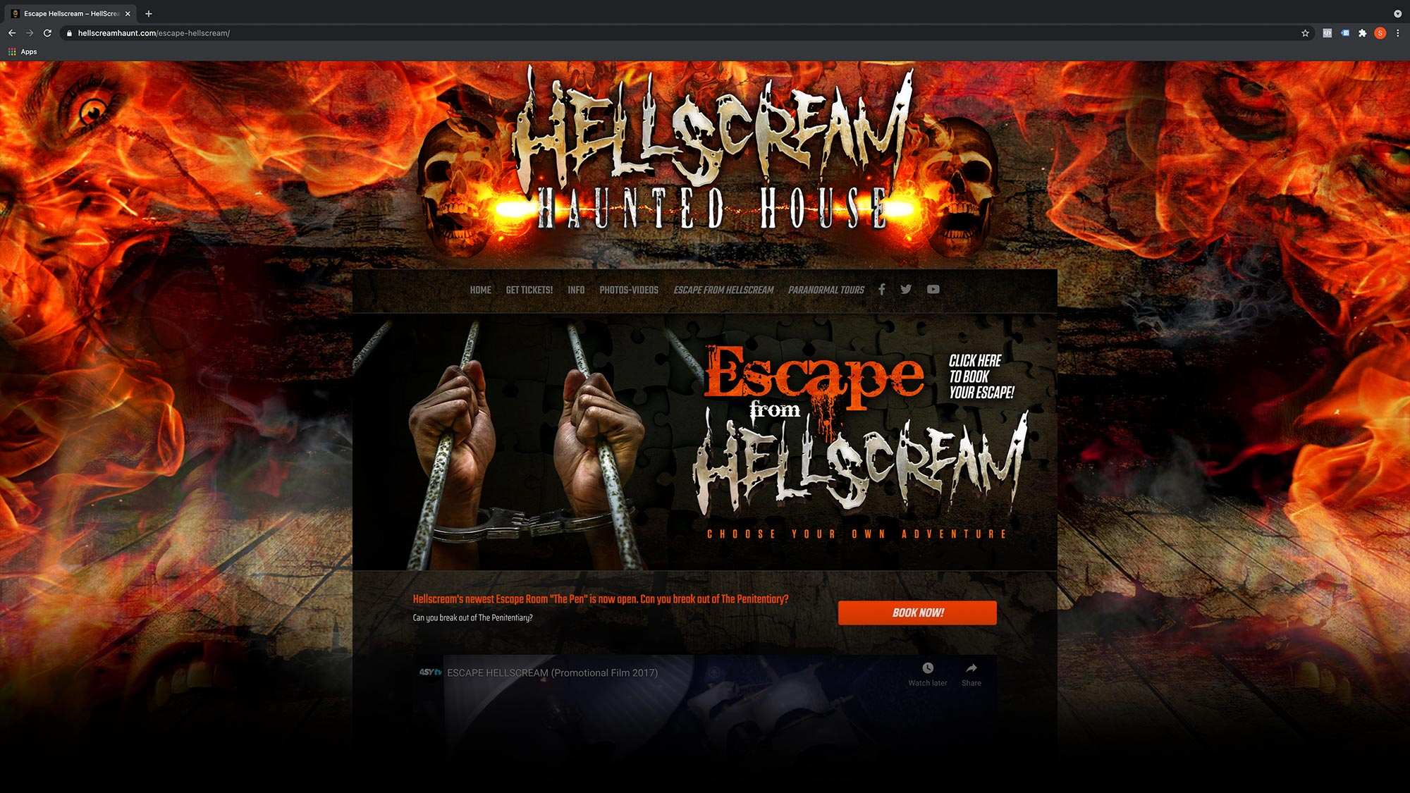 hellscreamhaunt.com